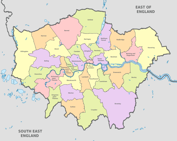 Man Van Biz covers all London Boroughs