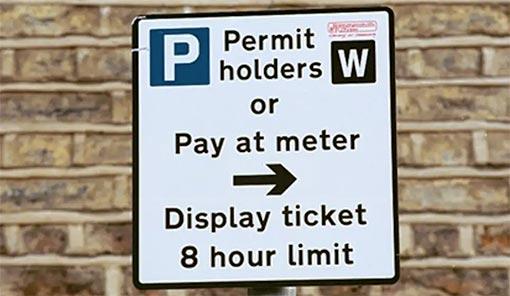 Man Van Biz - Parking Permit in London