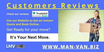 Movers from Man Van Biz were very fast and efficent