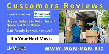 Client really satisfied with man and van service