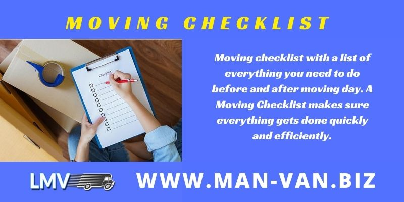 Complete Moving Checklist Guide