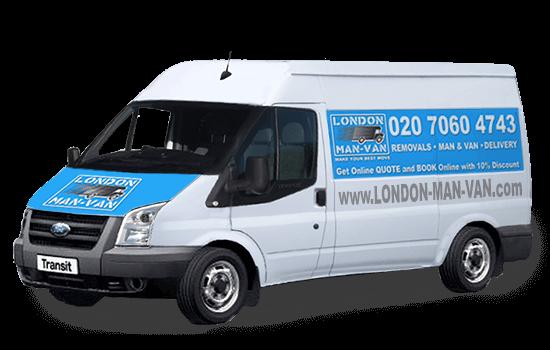 Man and Large Van in London